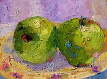13005_Green_apple_Sunday_6x8_standlee_oil_dpw